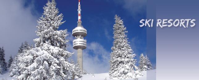 Winter and ski resorts
