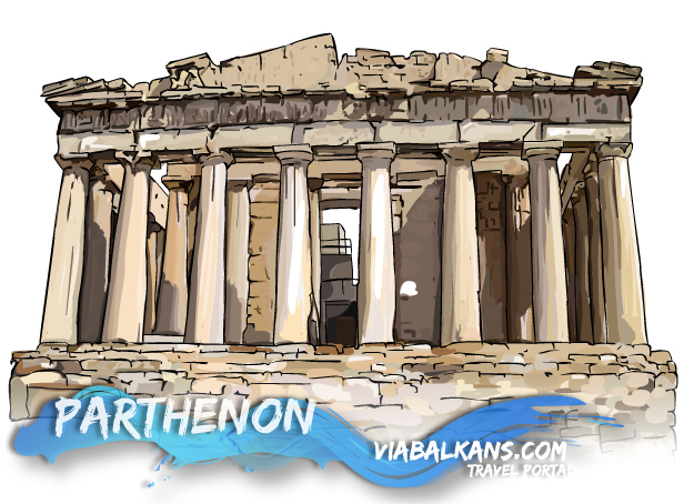 parthenon Atina, Grka prestonica
