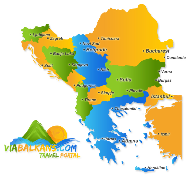 map of balkans O nama