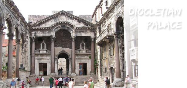 diokletian prestil Split, Dioklecijanova palača