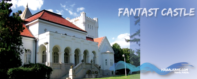 The Fantast castle, built by Bogdan Dundjerski