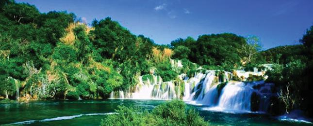 The river Krka, National Park
