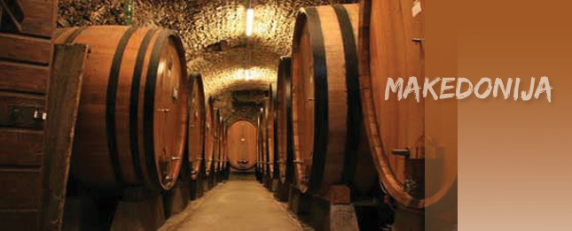 Macedonia, a country known for wine and viticulture