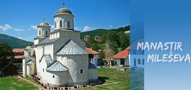 <br /> The Mileševa monastery