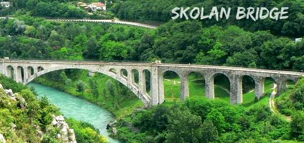 skolanski most Nova Gorica   grad ruža