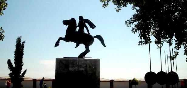 spomenik aleksandra velikog Solun (Θεσσαλονίκη, Thessaloniki)