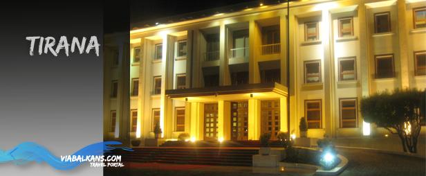 tirana albanska Tirana, prijestolnica Albanije