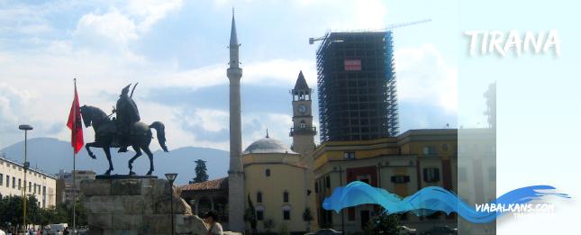 The Tirana, capital of Albania
