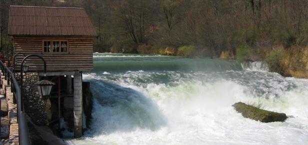 una vodopad Rijeka Una, Jedna i jedina