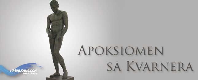 The Apoxyomenos from the palace Kvarner