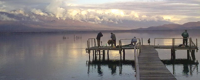 The Dojran Lake, a paradise for fishermen