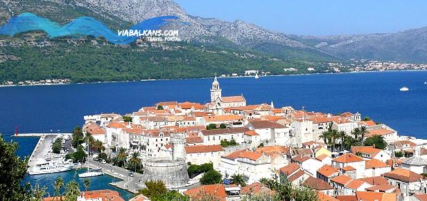 korcula Korčula, početak puta Marka Pola