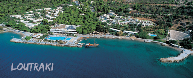 Loutraki, the oldest spa in Greece