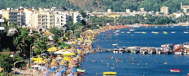 Marmaris, fishing village and urban center