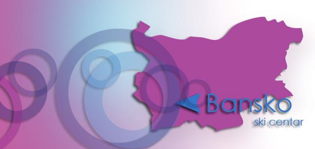 Bansko Bulgaria map