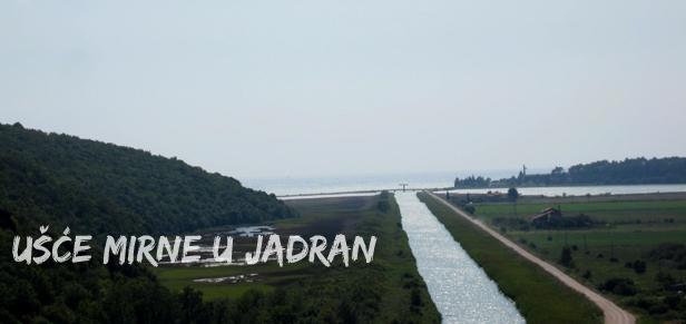 Ušće rijeke Mirne