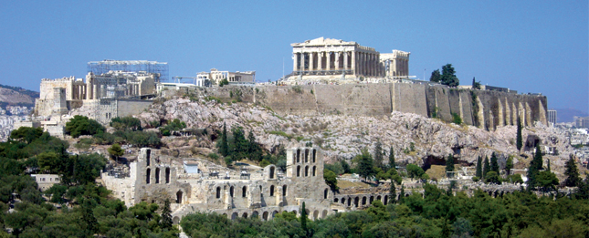 The Athens, Greek capital