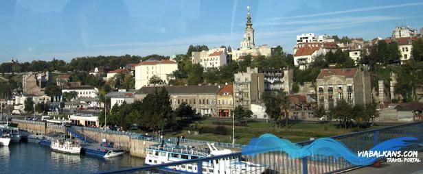 Brankov most - pristanište