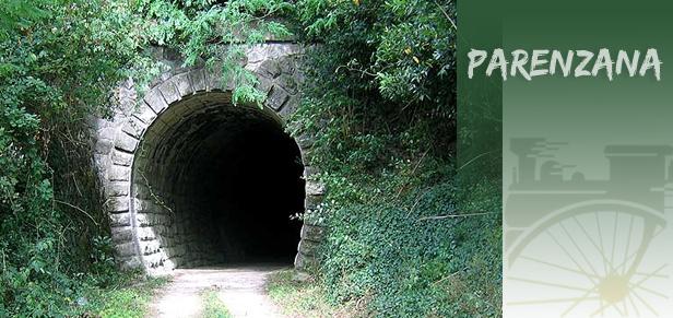 parenzana tunel La Parenzana, vinska pruga