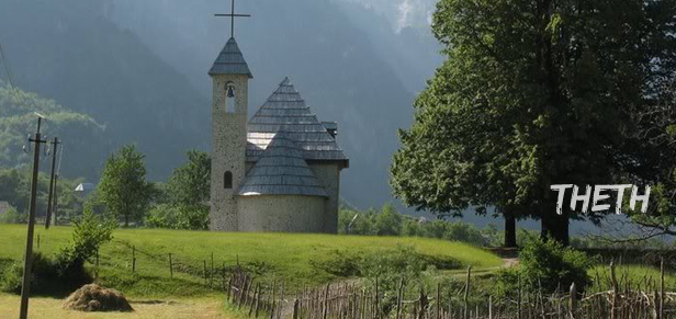 theth albania Nacionalni park Theth