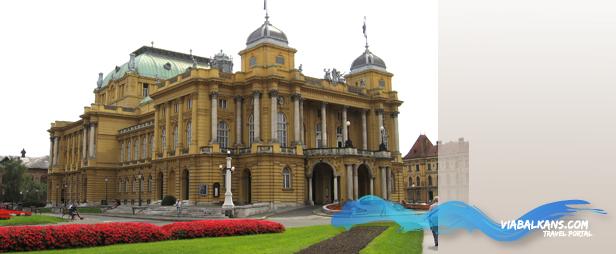 hrvatsko narodno kazaliste Još je lepši beli Zagreb grad...