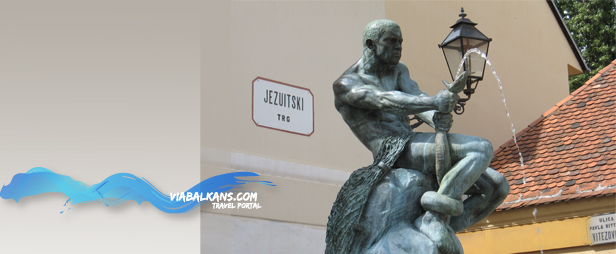 jezuitski trg zagreb Još je lepši beli Zagreb grad...