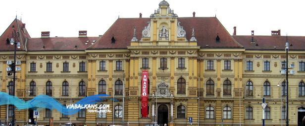 muzej za umjetnost i obrt Još je lepši beli Zagreb grad...
