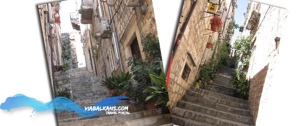 stepenice u Dubrovniku  DUBROVNIK, najblistaviji biser Jadrana