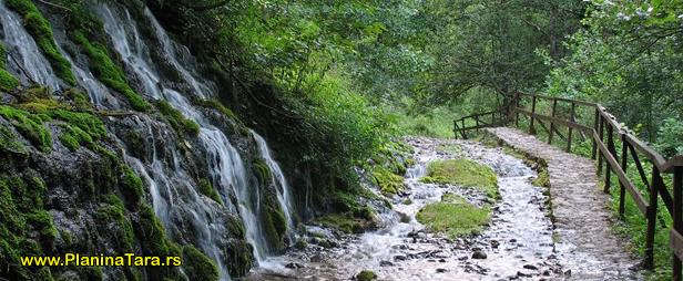 Planina Tara vodopad