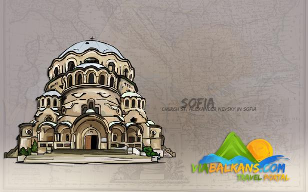 The St. Alexander Nevsky Cathedral, Sofia