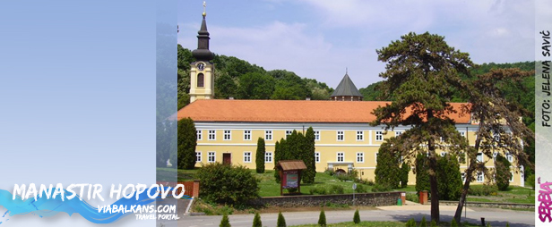 manastir hopovo Nacionalni park Fruška gora