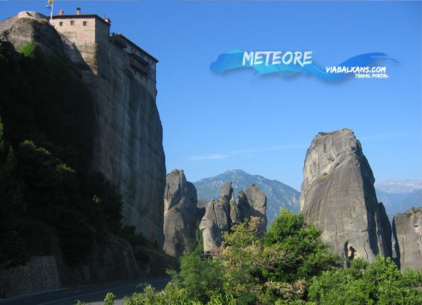 Manastiri meteori grčka