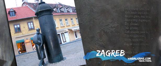 Spomenik Augustu Šenoi u Zagrebu