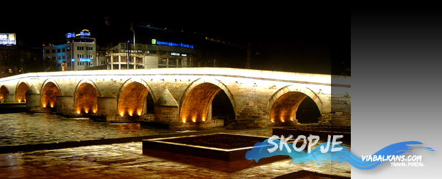Skopje, the capital of Macedonia