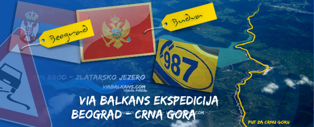 ViaBalkans ekspedicija Beograd  Budva/Petrovac
