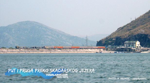 Prug preko Skadarskog Jezera