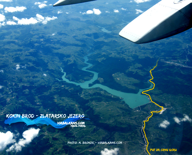 Kokin Brod - zlatarsko jezero